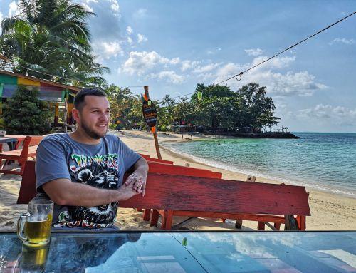Koh Samui (2): Mâncând cu picioarele în nisip